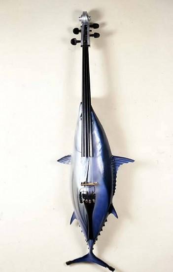 Ken Butler, Tuna Cello 2006, assemblage