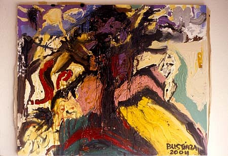 Alfredo Bustinza, Lucy 1 2004, mixed media