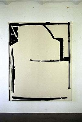 Heiner Blumenthal, Untitled 2003, paint on canvas