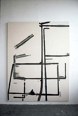 Heiner Blumenthal, Untitled 2000, paint on canvas