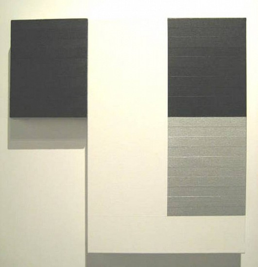 Lane Banks, Untitled 2006, acrylic on joined canvases