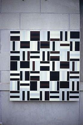 Lane Banks, Untitled 1999, acrylic on canvas
