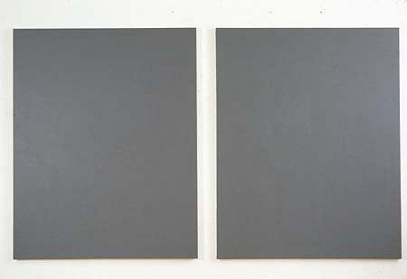 Joe Barnes, Grey - Medium 2004, acrylic on canvas
