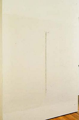 Jill Baroff, Not this not that 1992, sheetrock, oil stick, paint, plaster