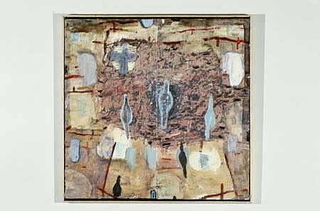 Jill Baroff, Devotional 1986, oil on linen