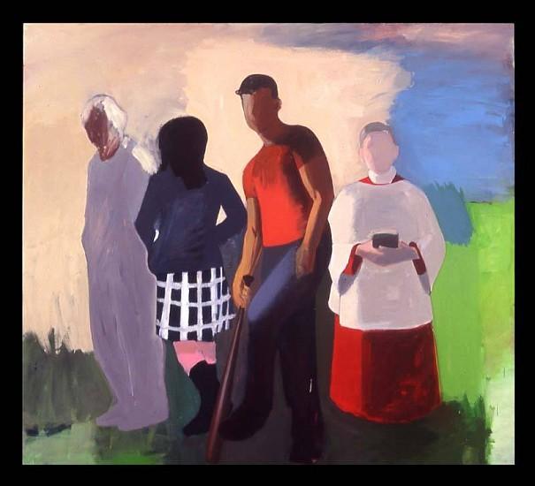 Kevin Bean, Group with Choir Boy 2007, oil on canvas