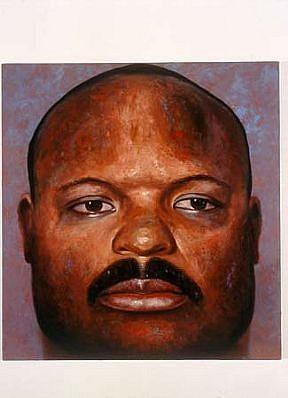 Ken Beck, Marlon 2001, oil on panel