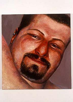 Ken Beck, Russell 2001, oil on panel