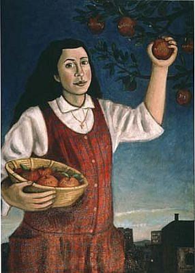 Richard Beerhorst, Fruit of the Spirit 1990, oil