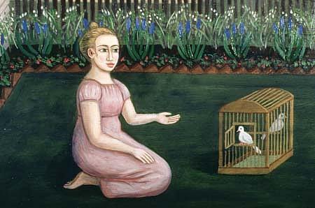 Richard Beerhorst, Liberation Girl 1997, oil