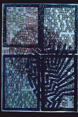 Boyce Benge, Spiritual Surrender 1990, mixed media