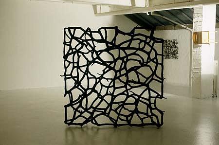 Rolf Bergmeier, Untitled 2000, oil on wood