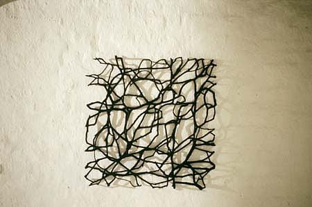 Rolf Bergmeier, Untitled 1995, oil on wood