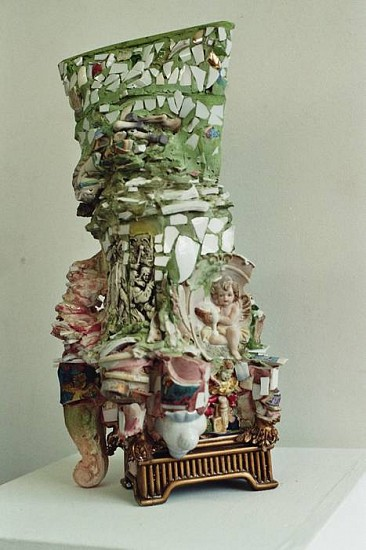Thomas Bevan, Unknown Cultural Object 2007, mixed media inc. plaster, plastics, ceramics, found objects