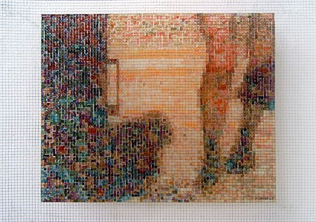Wolfgang Aichner, Ankleiden, 2005 2005, acrylic, steelmesh