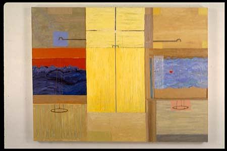 Elizabeth Albert, Balance 1995, oil on canvas