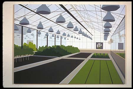 Brian Alfred, Monsanto 2001, acrylic on canvas