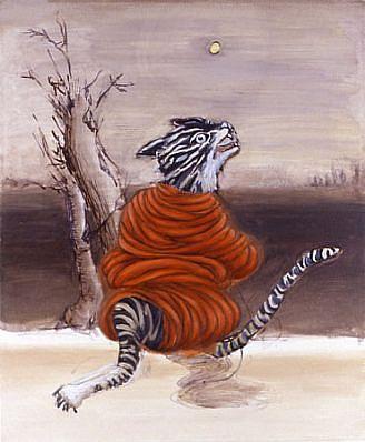 Elizabeth Albert, Shadow of a Sound 2008, oil on canvas