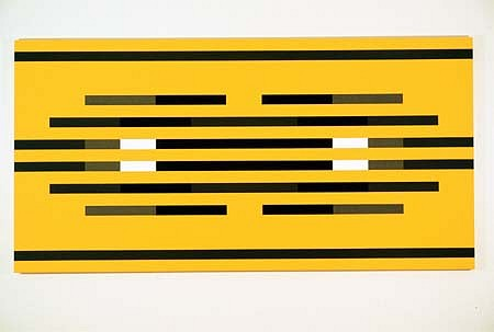 Barry Allikas, OZ (condition orange) 2003, acrylic on canvas