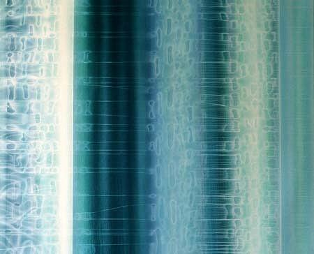 Jitka Anlaufova, Space 2002-2003, acrylic on canvas