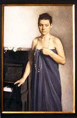 Elena Arcangeli, Preludio 2003, oil on canvas