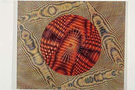 John Aslanidis, Dislocation no. 6 2001, oil, alkyd and acrylic on canvas