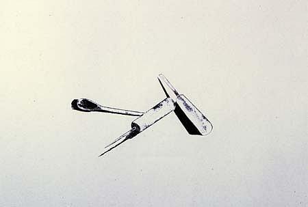 Adriana Asenjo, S/T 2004, xilografia