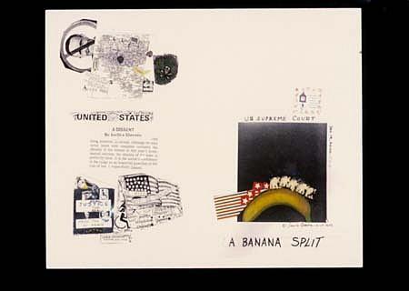 Sanda Aronson, A Banana Split 2000, xerographic