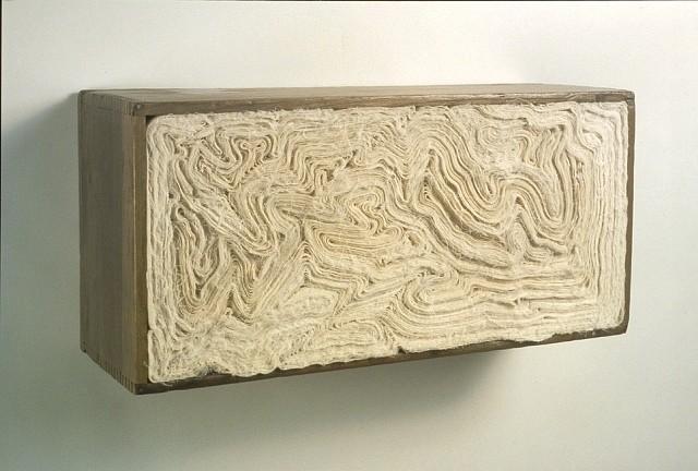 Kate Carr, Muslin Box 2 2008, vintage box, muslin