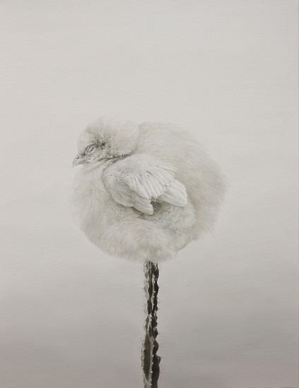 Eun-Joung Cho, The Flower 2009, oil on canvas