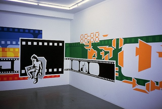 Jan Christensen, Wall Painting 2003