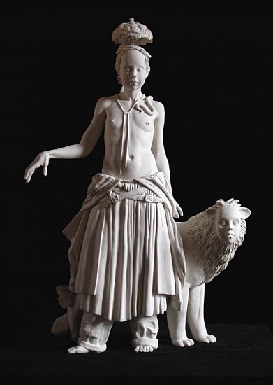 Tricia Cline, The Exile and the Manticore 2008, porcelain