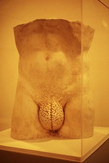 Yoan Capote, Racional 2004, plaster, plexiglass