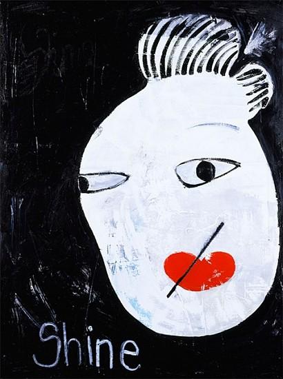 Laura Castellanos, Shine 2007, acrylic on canvas