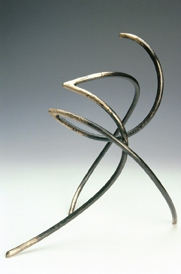 Dave Caudill, Solo No. 9, Alternate Stance 2007, bronze fabrication