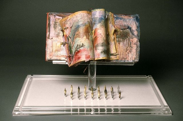Rosemarie Chiarlone, Lifestyles of the Great Poets 1989, mixed media