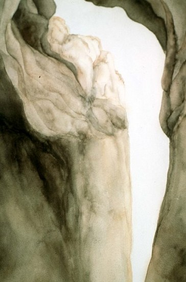 Janet Carlile, The White Place 2000, watercolor on paper