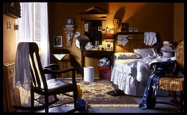 Tony Chimento, The Flight to Heaven 2000, oil on canvas