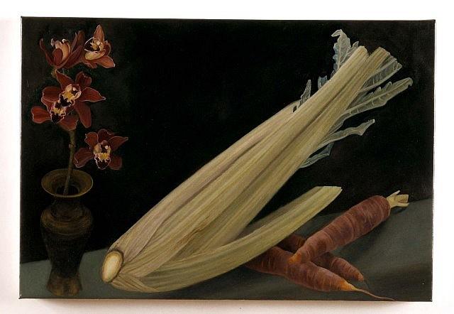 Gwen Fabricant, Cotan's Cardoon 2003, oil on linen