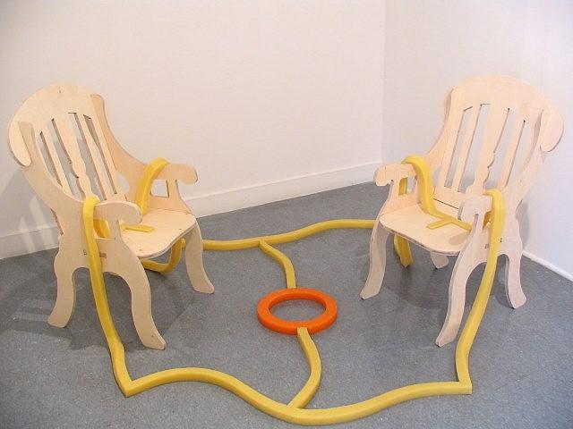 Tory Fair, Gametime Series 2004, wood, rubber