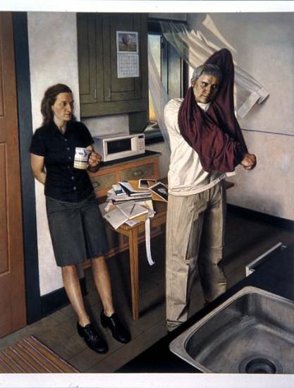 Paul Fenniak, The Kitchen (Ways of Escape) 2002, oil on canvas