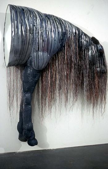 Rachel Frank, Leak 2007, cloth and mixed materials