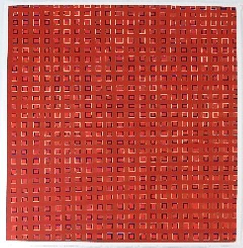 Sabine Friesicke, Still Untitled 2009, gouache on paper