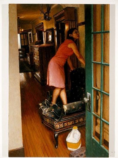 Paul Fenniak, The Tenant 2004, oil on wood