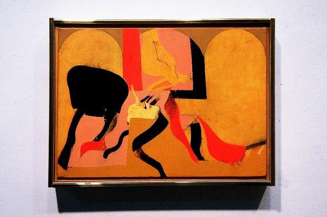 Frederick Garbers, Spanish Cloister 2005, acrylic on canvas