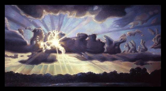 Matthew Hagemann, Break Through 2006, oil on canvas