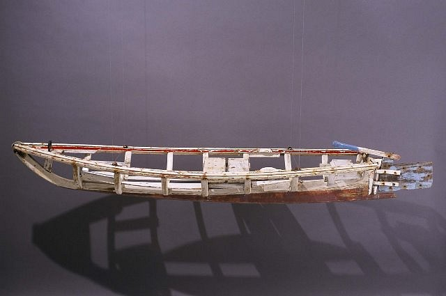 Gregory Hannan, Rowing No. 4 2000, found wood