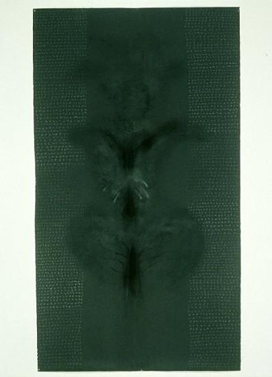 Rebecca Haseltine, Dark No. 10 2002, charcoal, graphite on paper