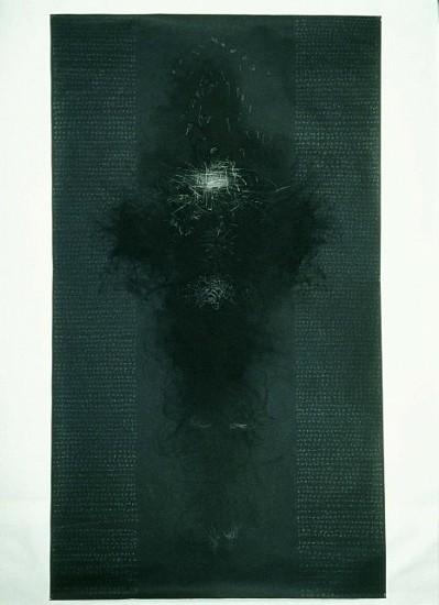Rebecca Haseltine, Dark No. 1 2002, charcoal, graphite on paper