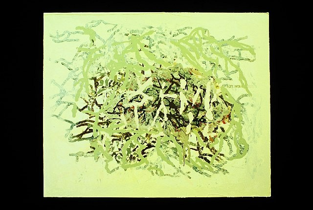 Kristin Holder, Untitled 2004, oil enamel on panel